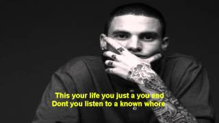 Kerser - Put It Back Together | Lyrics On Screen