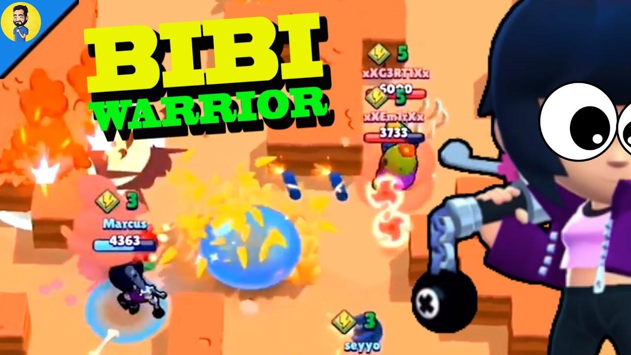 EL PODER DE BIBI (Bibi baseball warrior) – Reaccionando a FUNNY MOMENTS de BRAWL STARS