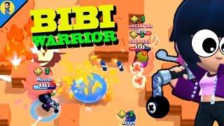 EL PODER DE BIBI (Bibi baseball warrior) - Reaccionando a FUNNY MOMENTS de BRAWL STARS
