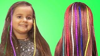 Çocuklarla Moana Saçı Yapıyoruz | Okula Dönüş | EvcilikTV