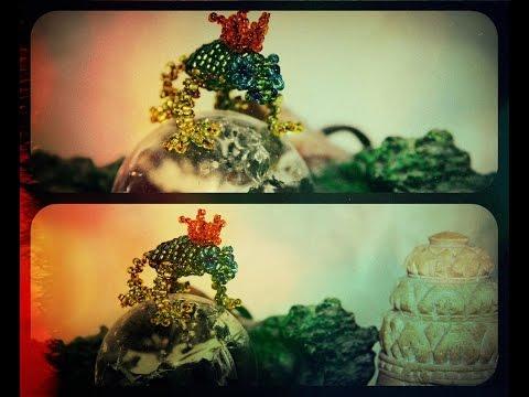 Лягушка из бисера царевна лягушка