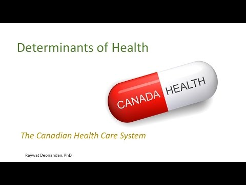 HSS1101D - 11.1 The Canadian Health Care System