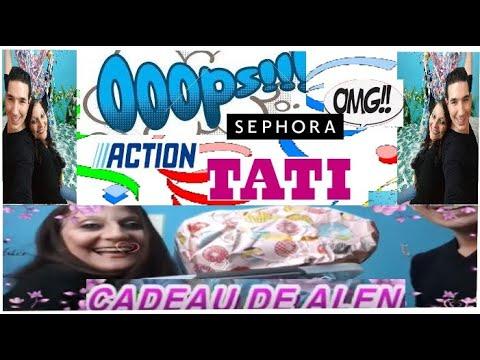 HAUL ACTION SUPER SURPRISE DE ALEN ACTION SEPHORA TATI thumbnail
