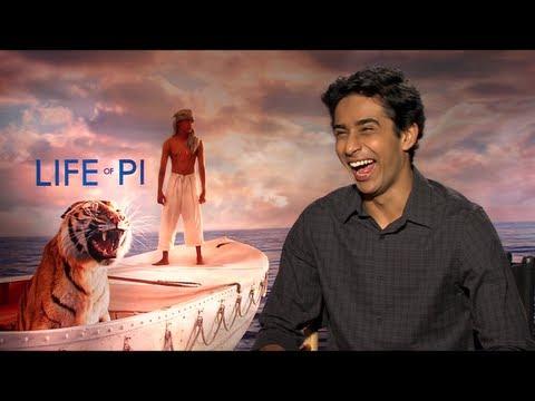 LIFE OF PI s with Suraj Sharma and Ang Lee