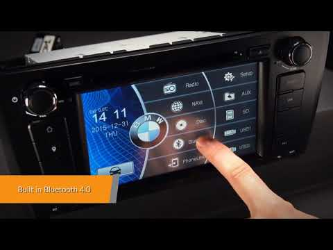 BMW - 7` WinCE Car DVD Player (PF7181BS)