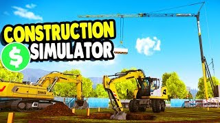 Big Build PROJECT COMPLETED  for BIG MONEY | Construction Simulator 2015 Gameplay