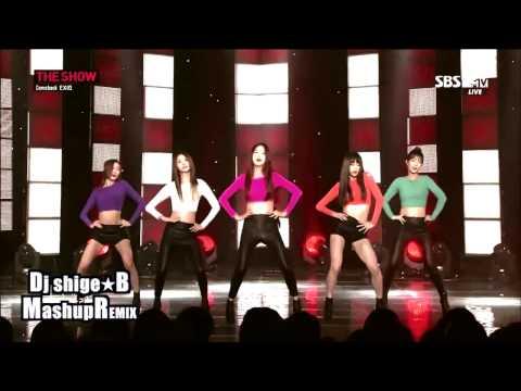 CL (2NE1) & LE (EXID) Feat.ZICO (Block.B) - UP & MENTAL BREAKDOWN - Dj Shige☆B Mashup