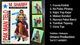 Full Album M. Shariff dan Pelawak Pak Man Telo - Lagu lagu jenaka Omara Production
