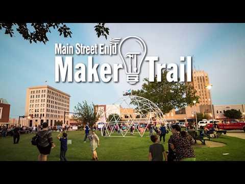 Main Street Enid - Maker Trail