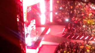 Raw live intro - Randy Orton entrance live 2-23-15