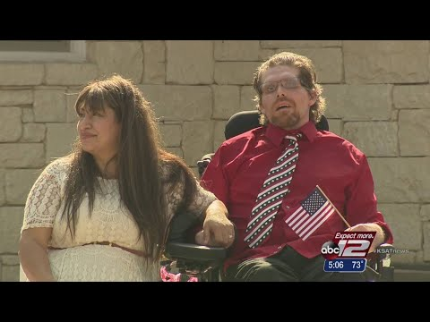 Wounded warrior gifted with new home