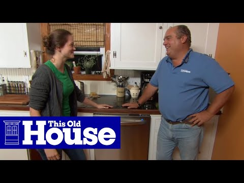 How to Add a New Dishwasher to a Kitchen   This Old House   YouTube