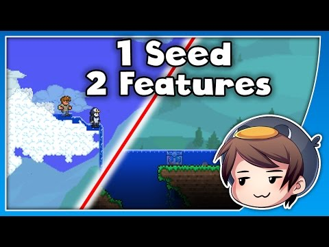 1 Terraria Seed - 2 Amazing Features! // Seed Spotlight