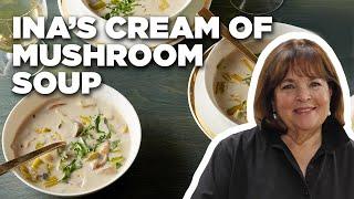Cook Cream of Wild Mushroom Soup with Ina Garten | Food Network