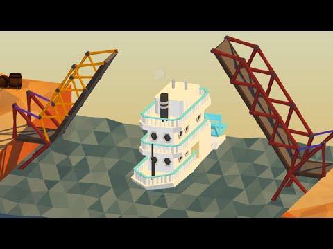 BUILDING A BRIDGE! (Poly Bridge Funny Moments)