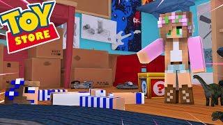 LITTLE CARLY IS A BROKEN DOLL?! Minecraft Toystore | Little Kelly