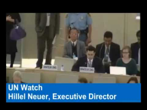 UN Watch´s Hillel Neuer Attacks Humanitarian Credentials of 'Free Gaza' Flotilla