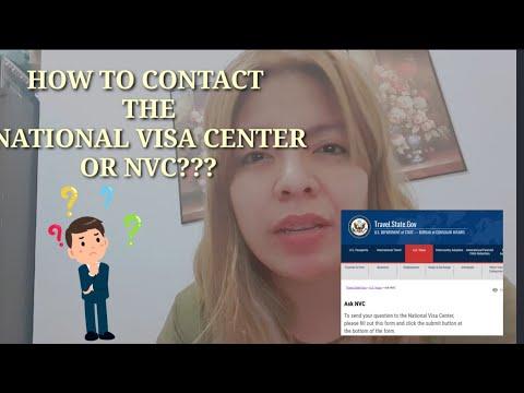 US VISA IMMIGRATION PROCESSING HOW TO CONTACT NATIONAL VISA CENTER? NVC TIMEFRAME EMAIL NVC
