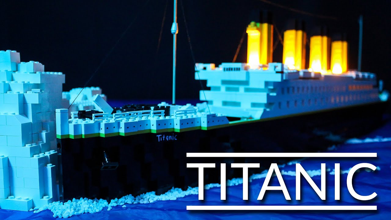 Lego Titanic Youtube
