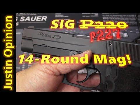 SIG P220 15 Round Capacity?