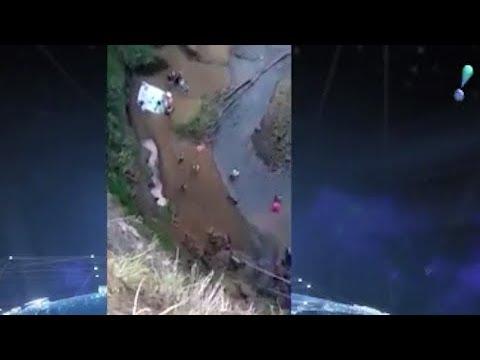 Homem desmaia e sofre grave lesão em salto de bungee jump em MG