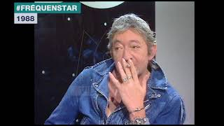 Extrait archives M6 Video Bank //  Serge Gainsbourg - Le Légionnaire (Fréquenstar-1988)