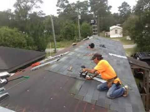 Mobile Home Reroofing With Shingles on putting roof on garage, putting front door on mobile home, putting roof on house, putting addition on mobile home,
