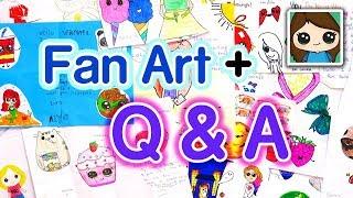 Fan Art + Q & A   Draw So Cute
