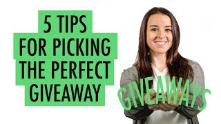 5 Tips for Picking the Perfect Tradeshow Giveaway