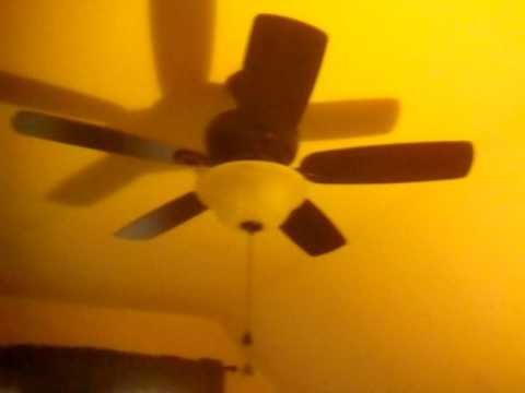 Harbor Breeze Sage Cove 44 In Bronze Ceiling Fan Youtube