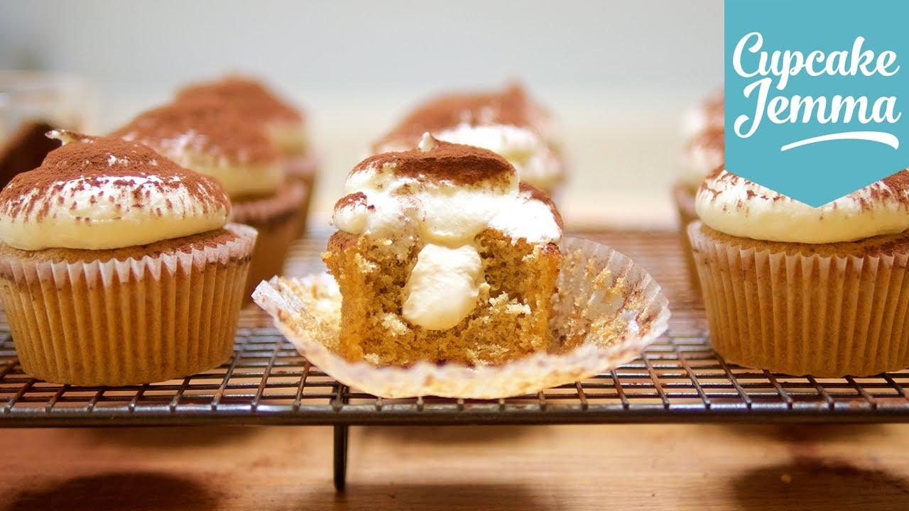 Cupcake Jemma Cake Recipe: How To Make Tiramisu Cupcakes