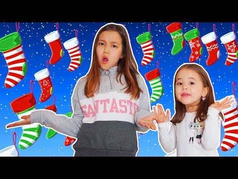 Как Получить много ПОДАРКОВ? Заманиваем Деда Мороза носками