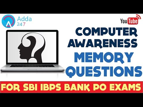 Computer Awareness Memory Questions for SBI PO