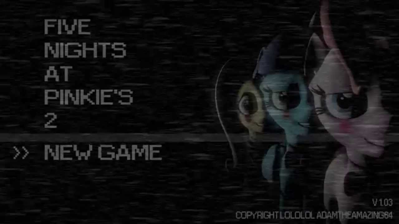 Sfm Ponies Five Nights At Pinkie S 2 Youtube
