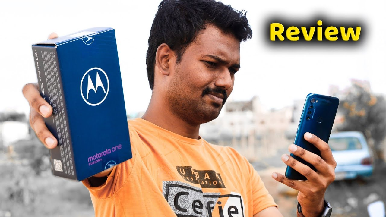 Motoவில் இப்படி ஒரு மொபைலா? | Moto One Fusion Plus Unboxing & Detailed Review in Tamil | Tech Boss