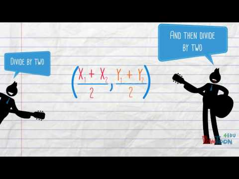 """Midpoint & Distance Formula Song """"Math Song Guy"""" """"The Beatles - Twist and Shout"""""""