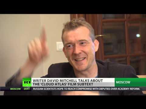 Writer David Mitchell talks about the 'Cloud Atlas' film subtext