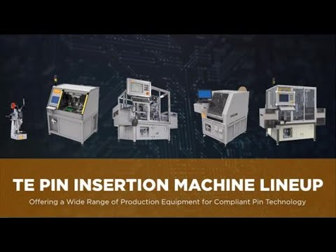 Complete Lineup of Pin Insertion Machines