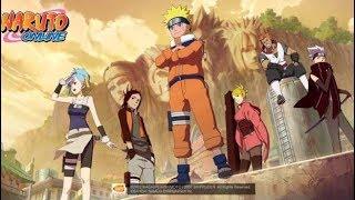 Naruto online Invasion del zorro de las nueve colas!