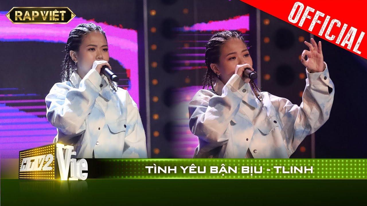 Bắn rap quá chất nữ rapper Tlinh khiến fan mê mẩn vì hit Chiếc khăn gió ấm   RAP VIỆT [Live Stage]