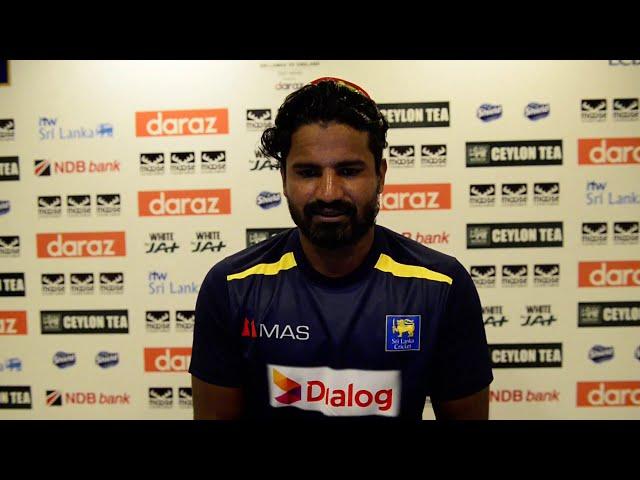 Kusal Perera | Post Match Press | SL v ENG 1st Test, Day 3