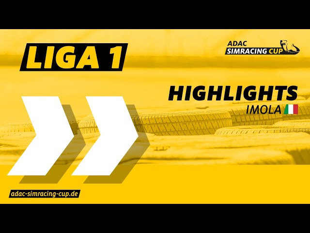 ADAC SimRacing Cup Liga 1 - Highlights Rennen 3 & 4 in Imola