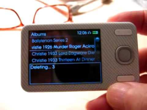 Creative Zen X-Fi Style delete firmware bug