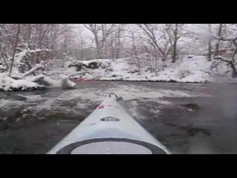 Winter Kayaking in Michigan