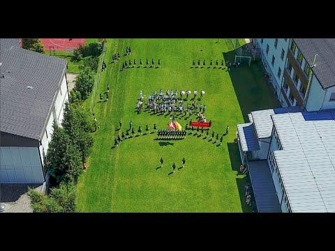 空拍 2017 Mid Europe Rehearsal 臺北市立第一女子高級中學 樂儀隊MB58 HG53 奧地利史萊德明 中歐管樂節