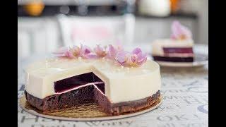 Tort panna cotta, bez pieczenia