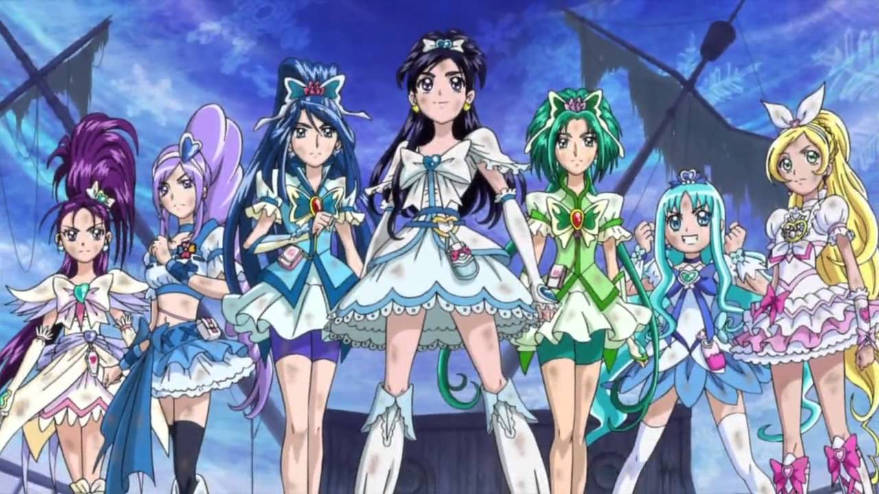 Yes! Pretty Cure 5 5k Retina Ultra HD Wallpaper and