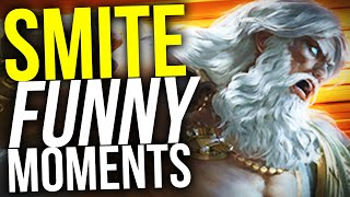 CUT FOR ZEUS! (Smite Funny Moments)