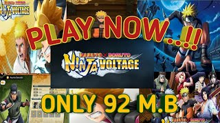 HOW TO DOWNLOAD _NARUTO-X-BRUNTO-NINJA-VOLTAGE _GAME ON ANDROID