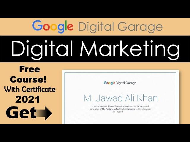 [Unlocking Finance] Google Digital Marketing Garage Certification Final Exam Answers   2020 updated